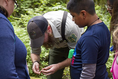 Naturalist with youth at Baker Lake, Mt Baker Snoqualmie National Forest (Forest Service Pacific Northwest Region) Tags: mtbakersnoqualmienationalforest naturalist youth bakerlake recreation employee workforce children employees people staff washington washingtonstate nationalforest nationalforests kids heritage cultural culturalresources activities