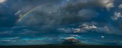 DSCF3318-Pano.jpg (Crooklyn Cuts) Tags: sky panorama clouds volcanoes ometepe nicaragua