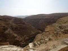 Vallei bij Mar Saba klooster
