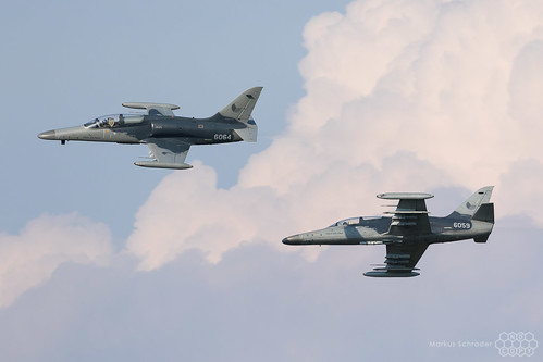 L-159A ALCA 6064 and 6059 Czech Air Force
