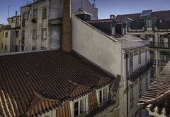Lisbon Rooftops (Sorin Popovich) Tags: lisboa lisbon portugal alfama sécatedral picturesque capitalcities cityscape rooftops roofscape roofs architecture europe textured buildingexterior buildings viewpoint roofshingles travel traveldestinations nopeople day outdoor d810 tamron 2470