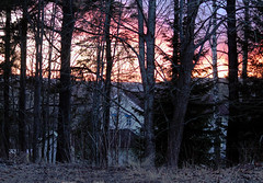 Sunset (Linnea from Sweden) Tags: canon eos 1100d efs 55250mm f456 is ii sunset house