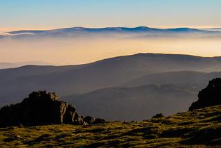 Pen Pumlumon Fawr, Cambrian Mountains, Mid Wales.