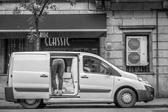 Back:Side (Bazzography!) Tags: funny fun humour humorous manandavan backside back van framed squares blackwhite blancoynegro noiretblanc rear rearview laugh havingadrink havingalaugh delivery delivering deliveryman bazmatthews streetphoto streetcandid