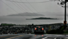 Half way up a hill (TJ Gehling) Tags: sanfranciscobay goldengatebridge brooksisland angelisland fog mist rain clouds moeserhillside moeserlane elcerrito powerlines