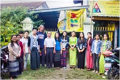 English School - Myitkyina (Trains In Tasmania) Tags: myanmar burma groupportrait myitkyina kachinstate students stevebromley burmese trainsintasmania