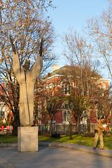 Kliment Ohrisdki Monument - Sofia (Tom Peddle) Tags: sofia sofiacity bulgaria bg kliment ohrisdki monument university