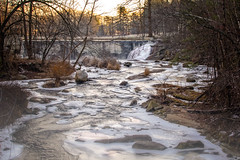 Beckly-Furnace-Falls-12 (desouto) Tags: nature landscape rivers lakes snow ice sky trees sunrise sunset colors