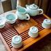Modern Chinese tea set