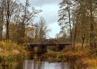 bridge over the river Tämnarån