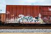 (o texano) Tags: houston teaxs graffiti trains freights bench benching radicl sbt bot