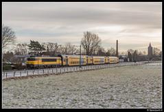 NSR 1741 + 7337 - 5533 (Spoorpunt.nl) Tags: 15 januari 2017 nsr 1741 7337 ddar sprinter 5533 soest sneeuw