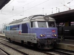 Gros plan sur la 67549 (ChristopherSNCF56) Tags: bb 67400 67549 en voyage sncf intercites gare de nantes train