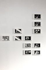 Tandem - tandem mass spectrometry - exhibition view (Kaja Utkowska) Tags: lithography art exhibition objects bw couple tandem raster