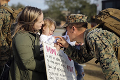 Tickle Me Pink (United States Marine Corps Official Page) Tags: spmagtfcraf clb2 welcome home deployment spain marines family sailor camp lejeune nc special purpose marine air ground task force camplejeune northcarolina unitedstates us