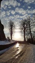 Shining (! . Angela Lobefaro . !) Tags: puffyclouds biella biellese valdengo winter skyporn cloudsporn nuages piedmont piemonte vitipiedmontitaly fav10 schäfchen clouds wolken