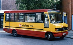Midland Red 160 (Vernon C Smith) Tags: midland red minibus