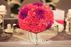 aranjament floral nunta garoafe roz (IssaEvents) Tags: nunta decor aranjamente sala valcea sofianu centrul evenimente troianu issa mariage issaevenets events 2018 bujoreni