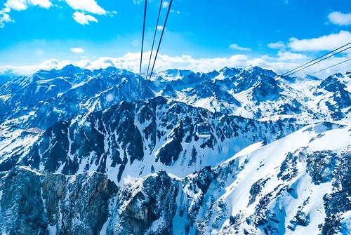 33-Dans le téléphérique vers le Pic du Midi