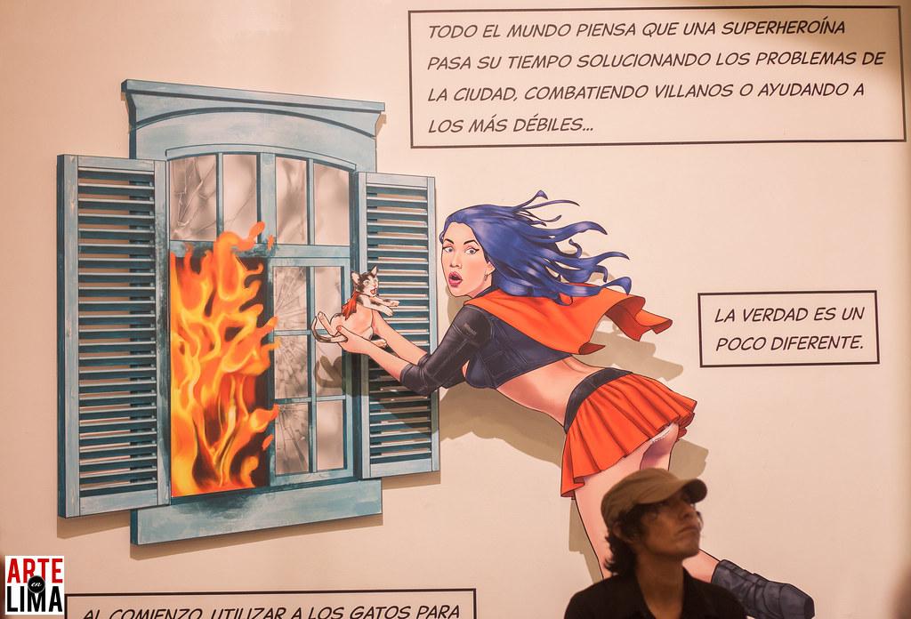 Manuel Cayao - Comics en Edición Limitada n° 6 EROTIQA en Delbarrio
