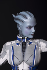 Liara Gaming Heads Statue (Outpost 51) Tags: statue collector collectable liara masseffect tsoni gamingheads