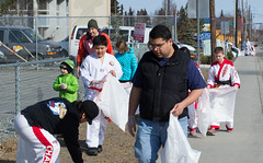 DSC_4107 (Eisbier) Tags: urban alaska community martial arts cleanup martialarts taekwondo litter anchorage service tkd givingback champmartialarts