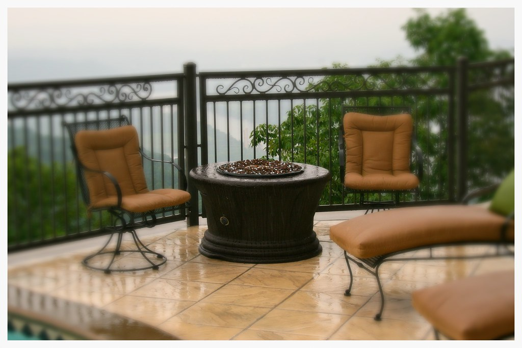 California Outdoor Concepts Fire Pit. Signal Mtn, Tn.