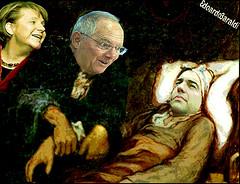 FEBBRE (edoardo.baraldi) Tags: grecia troika merkel schauble tsipras grexit