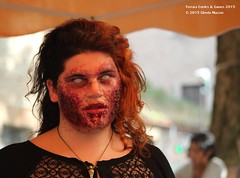 Ferrara Comics & Games 2015_01 (91) (Stolen Star) Tags: portrait scary blood cosplay zombie fear makeup burn disguise ferrara cosplayer rosso sangue rotto contactlenses paura terrore trucco walkingdead zombiewalk ferita travestimento bruciatura ferraracomicsgames2015