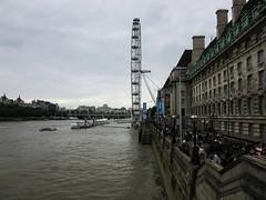 Riverside Walk (LookaroundAnne) Tags: uk england london river britain londoneye southbank riverthames se1 thethames peopleandpaths