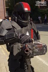 IMG_6209 (Neil Keogh Photography) Tags: gun cosplay halo armour blackred mcmcomicconmanchester2015