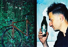 offside 2015. Lviv. sport oleg. (Yaroslav F.) Tags: life camera beer bike bicycle analog 35mm photography photo rat foto flash lifestyle style gear lviv frame half fixie local oleg nigh ternopil yaroslav fixet suslenko futymskyi