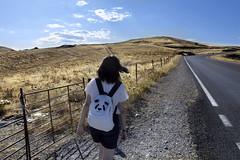 Path (Inyor (Ángel Castro) Photography) Tags: road sky nature girl panda camino carretera senda panth