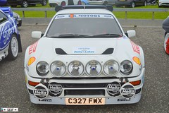 Ford RS200 irvine 2015 (seifracing) Tags: road cruise rescue car europe cops rally transport police rover vehicles van ayr emergency polizei spotting irvine services policia recovery polizia ecosse 2015 seifracing