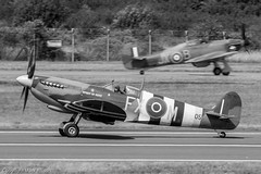 Battle of Britain 75th Anniversary Tributes (Mark_Aviation) Tags: tattoo airplane force anniversary aircraft aviation military air hurricane jet royal july bob ab battle 18th landing helicopter international spitfire 75 75th britian raf fairford riat 2015 flypast balbo egva