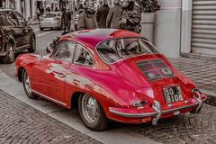 Porsche 911 S (antoniosimula) Tags: porche 911 911s nikond3200 nikon car auto super old sigma 1770 allaperto red bn bw monza street