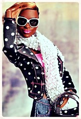 A-Z Challenge: Y - Yarn (GreenWorldMiniatures) Tags: barbie fashionfever zigzag 57 2016 kara sis soinstyle curvy