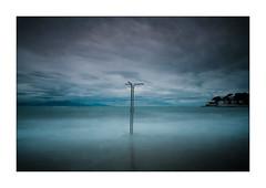 beach shower (kougnoff) Tags: canon cadre paysage poselente longexposure 1740l antibes landscape nature nuages filtre 5d provencealpescôtedazur