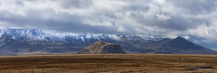 Eyjafjallajokull massif ducking under the rain (lunaryuna) Tags: iceland southiceland landscape panorama stitchedpano panoramicviews mountains mountainrange snowcappedmountains southernplains sky clouds cloudscape weather weathermood spring season seasonalbeauty lunaryuna eyjafjallajokull