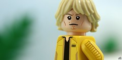 A New Horizon (Jamesbrick) Tags: lego jamesbrick 2017 star wars luke skywalker jacket yellow yavin 4