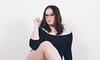 Ellen (PhotographerJockeFransson) Tags: 85mm portrait white glasses nerd nerdy 6d canon eos bbw bodypositive bbwgirl girls