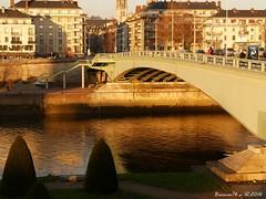 Le pont Corneille , Rouen (Barnie76@ ,) Tags: pontcorneille pont ilelacroix rouen laseine paysage seinemaritime normandie
