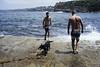 Gordons Bay (joe latty) Tags: summer sydney gordonsbay clovelly coogee sea ocean swim swimmingdog leicam8 zeissbiogon28mm sunshine beach biogont2828