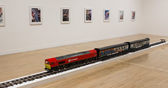 The New Media Express in a Temporary Siding (Baby Wants To Ride) by Josephine Pryde, Turner Prize 2016 Exhibition, Tate Britain, London (IFM Photographic) Tags: img4277a canon 600d ef2470mmf28lusm ef 2470mm f28l usm lseries pimlico london westminster cityofwestminster city tatebritain tate artgallery turnerprize2016 turnerprizeexhibition thenewmediaexpressinatemporarysidingbabywantstoride josephinepryde