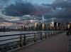New York Sunset after the Storm (ADW44) Tags: nyc newyorkcity ny skyline freedomtower lowermanhattan skyscrapers newyork jerseycity nycskyline beautifulsky bluehour sunset 1wtc worldtradecenter worldfinancialcenter