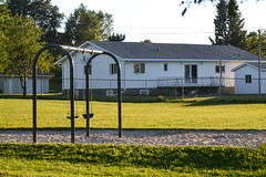 Playground (Vegan Butterfly) Tags: playground park outside outdoor dryden ontario equipment swings swingset