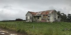 Old house, Port Chalmers, Otago, New Zealand