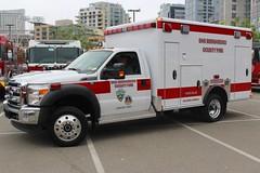 San Bernardino County Fire Dept. (So Cal Metro) Tags: fire firetruck fireengine sandiego rescue ambulance paramedic emt ems fseries ford yuccavalley sanbernardino sanbernardinocounty sanbernardinocountyfire sanbernardinocountyfd sanbernardinocofd f450 wheeledcoach