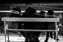 Family (joe petruz) Tags: family monochrome bw black white blackwhite noire noir old style street shoot photo canon eos 650d petruz field merano italy