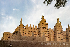 Great Mosque of Djenne, Mali, West Africa (zellerw0) Tags: sahel westafrica greatmosque djenne mali travel